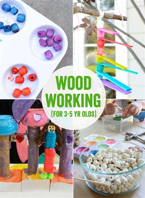 art projects    year olds wood working woods