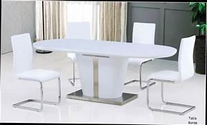 Table A Manger Design table salle a manger ultra design blanc laque avec rallonge 30 Idées de