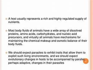 4 ecology of parasites part 1