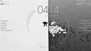 Black And White Themed Wallpaper