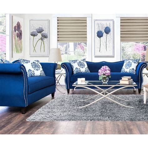 Shopping For Sofa Set by Furniture Of America Othello 2 Sofa Set Overstock