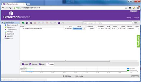 bureau à distance windows bittorrent remote permet le contrôle à distance de bittorrent