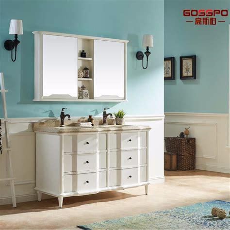European Bathroom Cabinets by China European Style White Painting Wood Bathroom Vanity