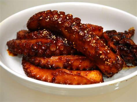 octopus recipes braised octopus muneo jorim recipe maangchi com