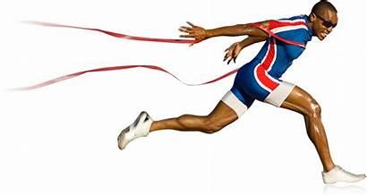 Running Runner Sport Transparent Athlete Background Clipart