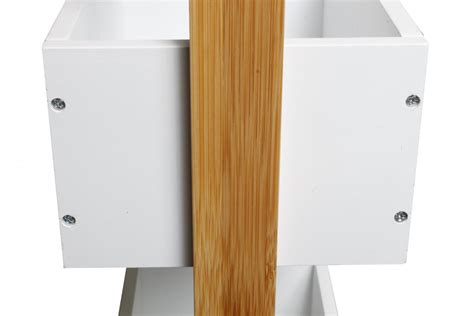 Badezimmermöbel Regal Holz by Massiv Holz Bambus Badregal Mit 3 Ablagen Regal Bad