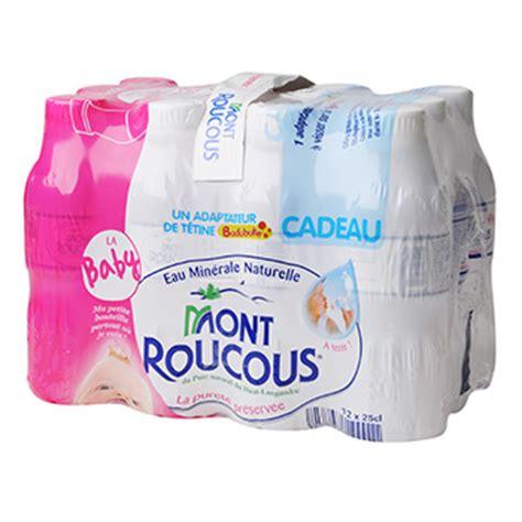 eau minerale mont roucous pack baby maxi 12 x 25 cl tous les produits eaux plates prixing