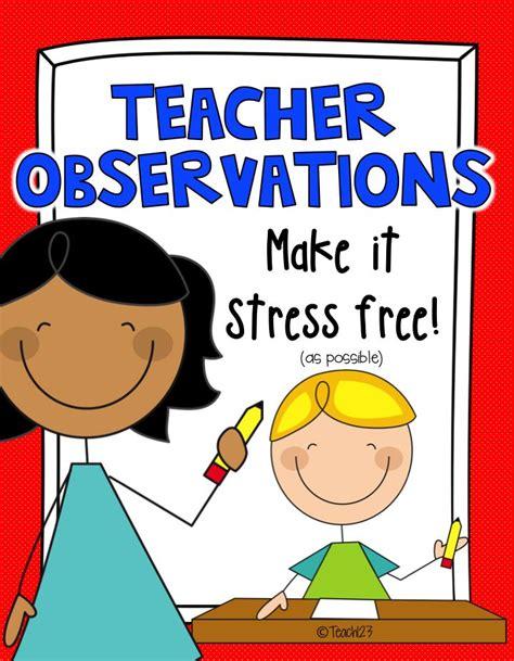 teacher evaluation observation tips teacher