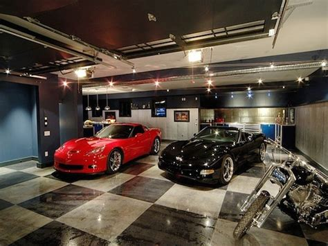 12 Spectacular Private Showroom Garages  Pricey Pads