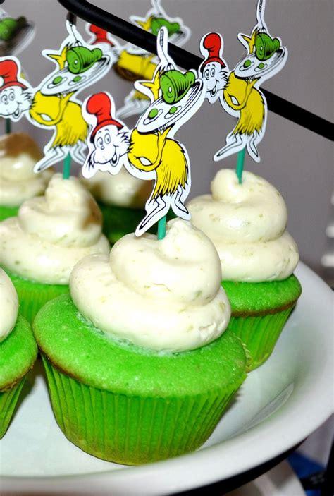 green eggs  ham cupcakes  cute