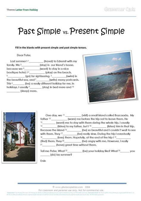Past Simple Vs Present Perfect Exercises Online  1000 Images About Present Perfect Vs Past