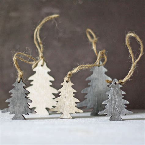 hanging christmas tree lights wooden trees hanging christmas tree decorations by the