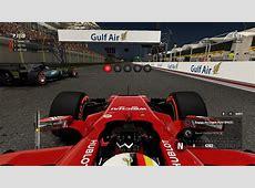 Sebastian Vettel 2018 Bahrain helmet RaceDepartment