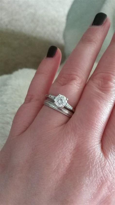 awesome engagement ring same as wedding ring matvuk