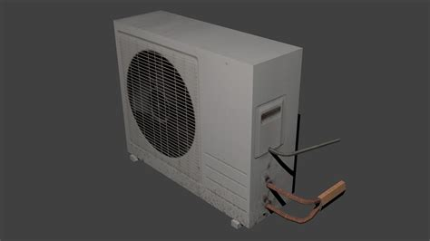air conditioner  model game ready cgtrader
