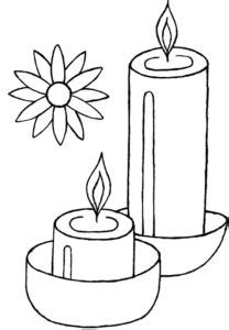 diwali candles drawing ideas  images diwali candles