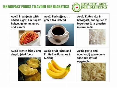 Foods Diabetics Breakfast Avoid Eat Should Type