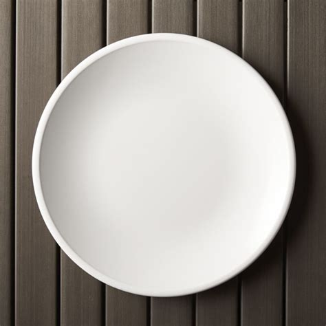 top wedding registry lunea melamine white 10 5 quot dinner plate crate and barrel