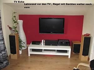 Tv In Ecke Hängen : brauche hilfe bei der beamer position leinw nde beamerzubeh r messtechnik co hifi forum ~ Indierocktalk.com Haus und Dekorationen