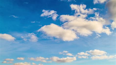 Blue Sky And Cloud Stock Footage Video 4062394