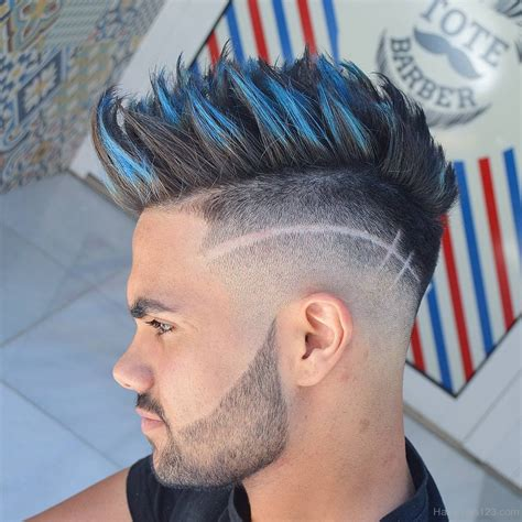 Cool Mohawk Hairstyles For by Cool Spiky Mohawk