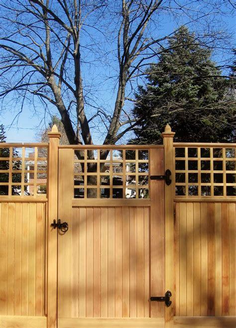 fence gate design fence gate design sisson landscapes