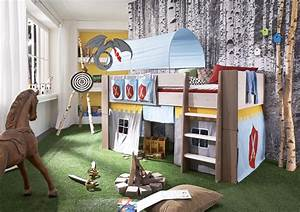 Kinderzimmer Vorhang Junge : hochbett kinderbett ritter tunnel vorhang kinderzimmer kiefer massiv kaufen bei saku system ~ Whattoseeinmadrid.com Haus und Dekorationen