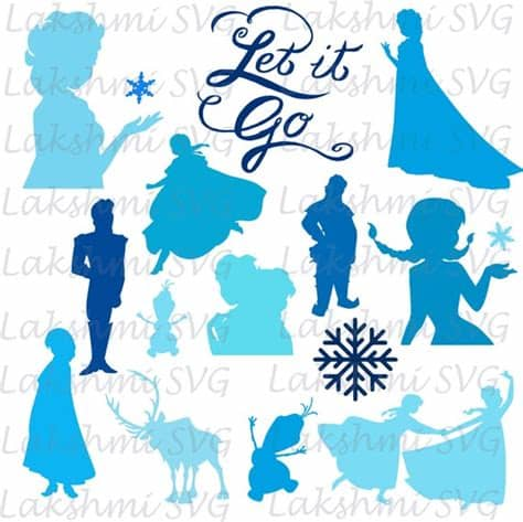 Free svg cut files downloadable for cricut explore and silhouette cameo, so you can use them in your diy crafts! Frozen SVG Bundle Frozen clipart Frozen cut files Frozen