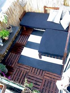 Kleinen Balkon Gestalten Günstig : 20 beste idee n over kleinen balkon gestalten op ~ Michelbontemps.com Haus und Dekorationen