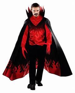 Halloween Kostüm Herren Ideen : flammen teufel kost m f r halloween fasching horror ~ Lizthompson.info Haus und Dekorationen