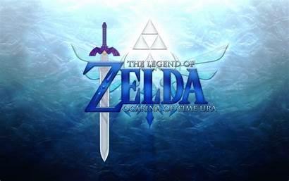 Zelda Ocarina Desktop Wallpapers Legend Ura Triforce