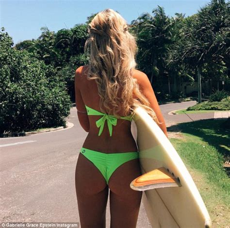 Instagram model Gabrielle Epstein launches her own bikini ...