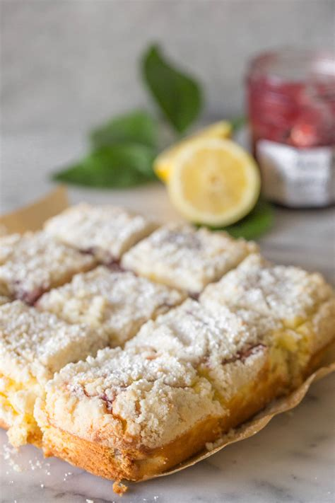 I made almost no changes to the original recipe. Lemon Raspberry Cream Cheese Coffee Cake - Lovely Little ...