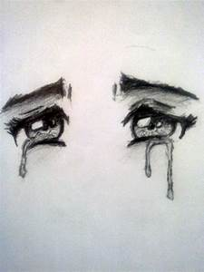 Pics For > Closed Crying Eyes Drawing