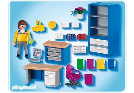 bureau playmobil the home office 4289 a playmobil