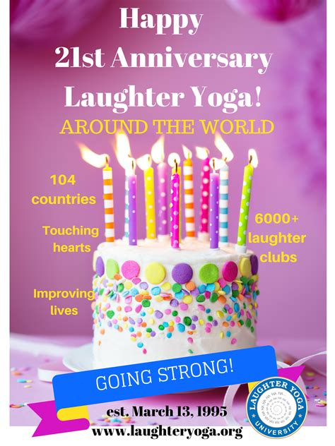 happy st anniversary laughter yoga laughter yoga