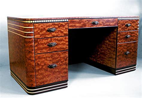 art deco desk l bubinga art deco desk