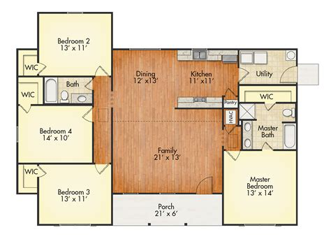 Jamison Ii Floor Plans