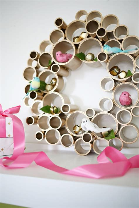 Try This Pvc Pipe Wreath A Beautiful Mess