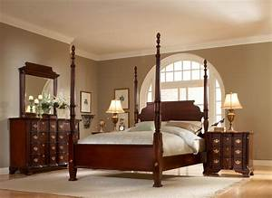 Renovate your home design studio with nice fancy cherry for Mahogany bedroom set