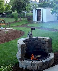 U221a, 13, Inspiring, Diy, Fire, Pit, Ideas, To, Improve, Your, Backyard, With, Images