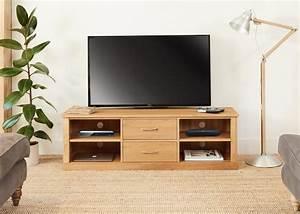 Mobel Oak Mounted Widescreen Television Cabinet COR09E