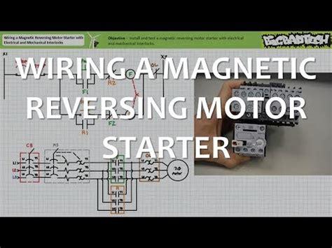 Wiring Magnetic Reversing Motor Starter With Interlocks
