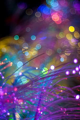 abstract bokeh colors lights iphone wallpaper