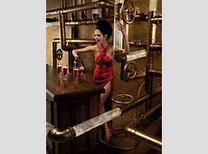 Campari 2015 Calendar Starring Eva Green Tom + Lorenzo