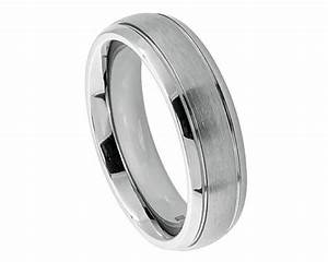 women titanium band womens wedding ring womens band women With titanium wedding rings women