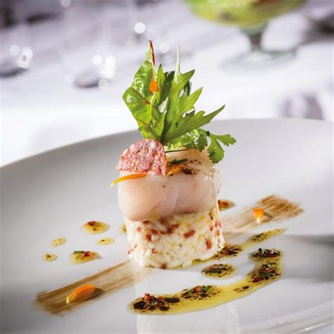 cuisine gastronomie bar de ligne risotto de chorizo ibérique les poissons