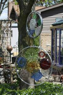 kreative gartenideen deko aus altem fahrrad selber machen - Gartenideen Wall