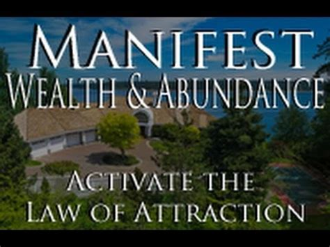 manifest  amazing life activate  law  attraction youtube