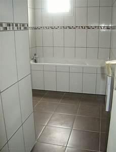 Peinture Salle De Bain Carrelage : peindre du carrelage au sol salle de bain peinture ~ Dailycaller-alerts.com Idées de Décoration